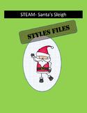 STEAM/STEM- Santa's Sleigh