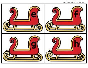 Santa's Sleigh First Sound Fluency