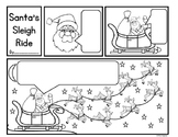 Christmas Themed Comic Writing - Santa's Sleigh Ride