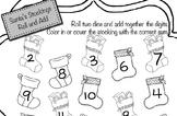 Santa's Stockings - Roll and Add