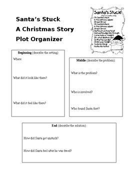 Santa's Stuck Graphic Organizer