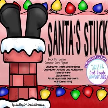 Santa's Stuck Reading Activities