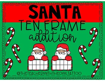 Santa's Ten Frame Addition