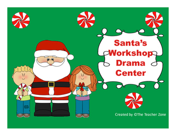 Santa's Workshop and Toy Wrapping Station Dramatic Center