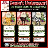 Santa's Underwear! {one-time prep activities for reading & writing}