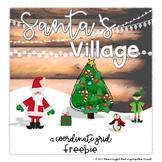 Santa's Village, A Coordinate Plane Freebie