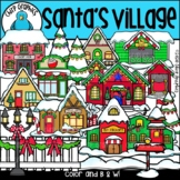 Santa's Village Clip Art Set - Chirp Graphics