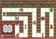 Santa's Workshop Christmas Themed Game Board