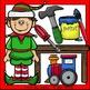Santa's Workshop Clip Art Set - Chirp Graphics