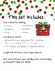 Santa's Workshop December Writing Center Options
