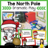 Santa's Workshop Dramatic Play {The North Pole}