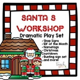 Santa's Workshop Dramatic Play set