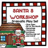 Santa's Workshop Dramatic Play set