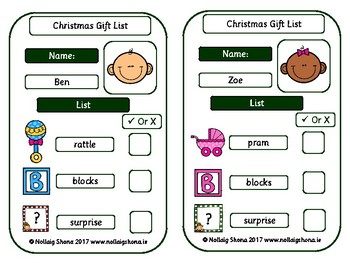 Santa's Workshop Gift List