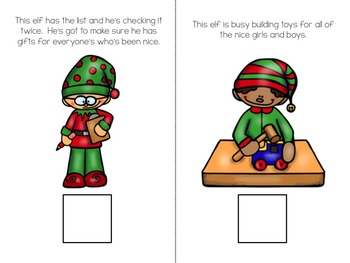 Santa's Workshop Interactive Book