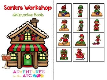Santa's Workshop Interactive Book