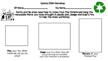 Santa's Workshop STEM Challenge
