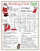 Santa's Workshop and Christmas Customs Two-Page Activity Set