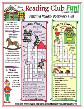 Merry Christmas: Santa Claus' Workshop & Christmas Customs Puzzle Set