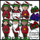 Santa's lil' Helpers {Holiday Clipart}