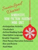 SantaLand Diaries Non-Fiction Narrative Unit Sedaris Holiday Christmas Humor
