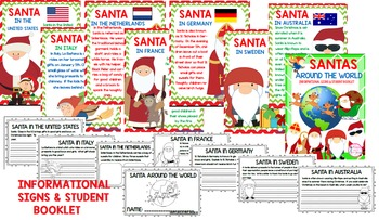 Christmas Around the World/Santas Around the World (Signs & Student Booklet) K-2
