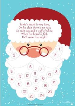 FREE Santa's Arrival Countdown - Advent Calendar Craft for