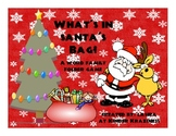 Santa's Bag - A Word Family Game