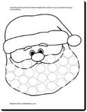 Santa's Beard Craftivity