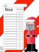 Santa's Behavior Chart