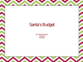 Santa's Budget