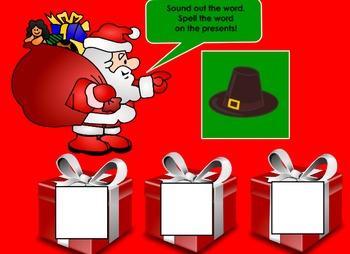 Santa's CVC Words