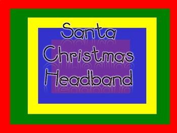 Santas Christmas Headband