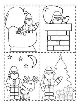 santa 39 s christmas night seq by anne hofmann 1st grade. Black Bedroom Furniture Sets. Home Design Ideas