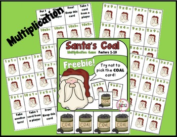 Santa's Coal - A Multiplication Game