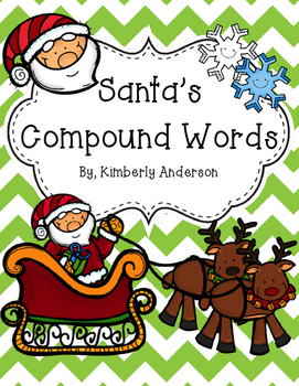 Santa's Compound Words Practice