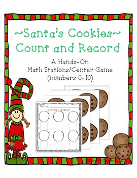 Santa's Cookies: Count & Record Differentiated Center/Stat