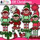 Elf Christmas Clip Art | Christmas Clipart for Teachers
