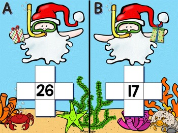 Santa's Day Off ~ Christmas Math Activities