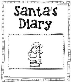 Santa's Diary [Journal Printable]