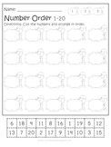 Santa's Elf Helper Mini Math & Literacy Packet
