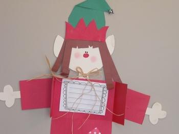 Santa's Elf Writing Project