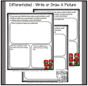 December Narrative Writing- Working Santa's Workshop