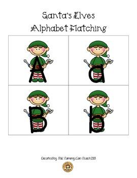 Santa's Elves Alphabet Matching