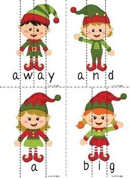 Santa's Elves Word Puzzles (Bundle)