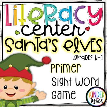 Santa's Elves Word Puzzles (Primer)