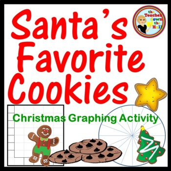 Christmas Math Graphing Activity - Graph the Cookies!