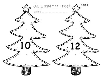 Santa's First Grade Math Review