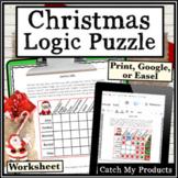 Christmas Logic Puzzle : Santa's Gifts