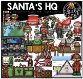 Santa's HQ Clip Art Bundle {Educlips Clipart}
